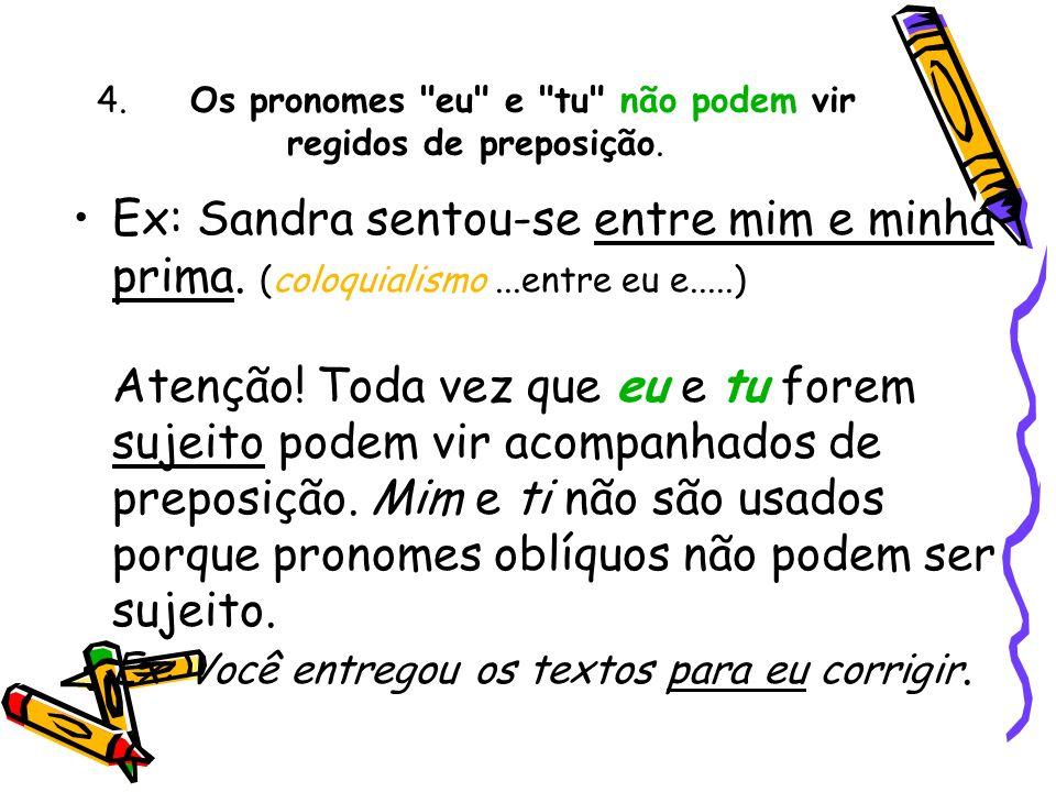 4. Os pronomes