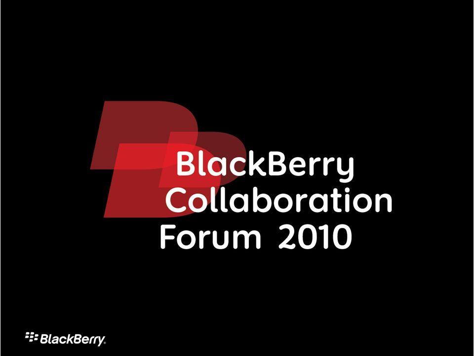 2 Leveraging the Power of Blackberry Mobility & Lotus Collaboration Mario Costa
