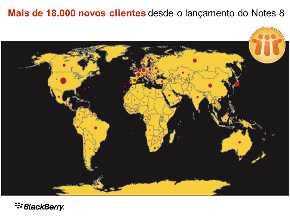 Mais de 18.000 novos clientes desde o lançamento do Notes 8