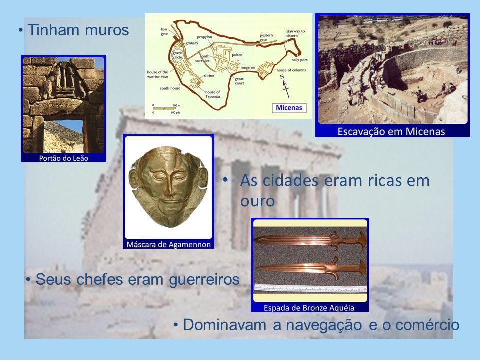 Os cretenses foram destruídos provavelmente por uma catástrofe natural. Com o tempo, a região da Grécia recebeu outras migrações: jônios, aqueus e dór