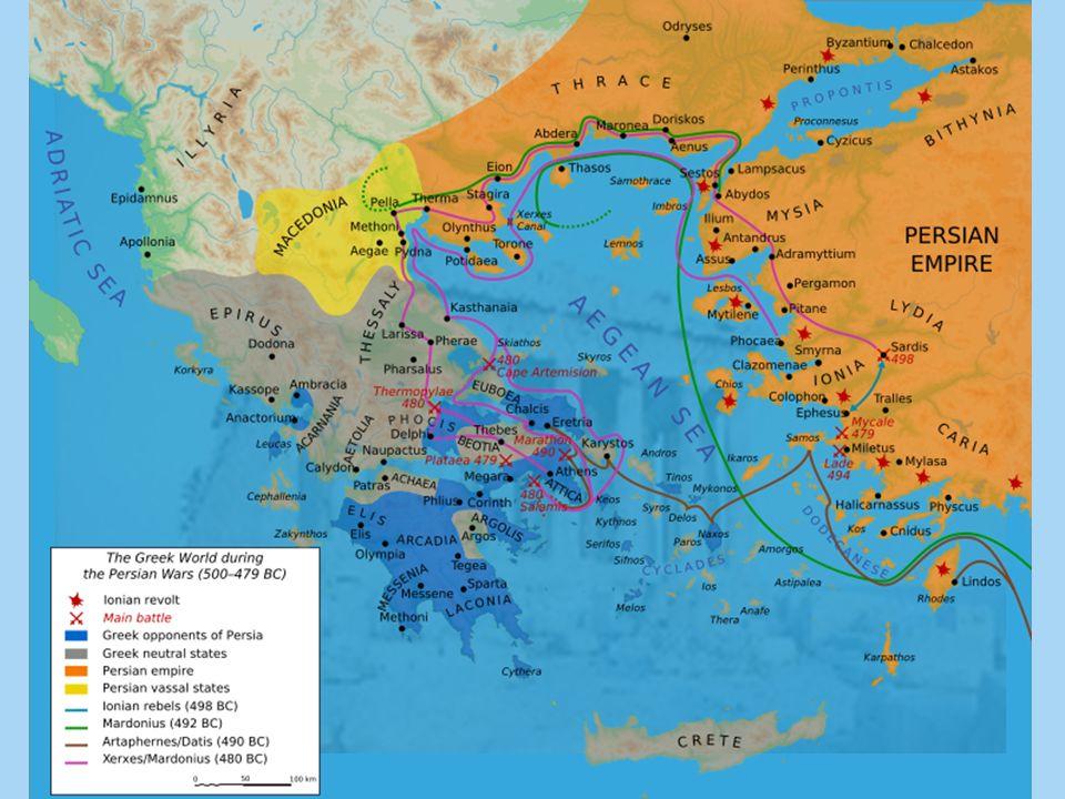 GUERRAS A expansão grega gerou muitos conflitos entre os gregos e fora da Grécia. GUERRAS MÉDICAS Persas X Gregos – quase 50 anos Motivos: expansão pe