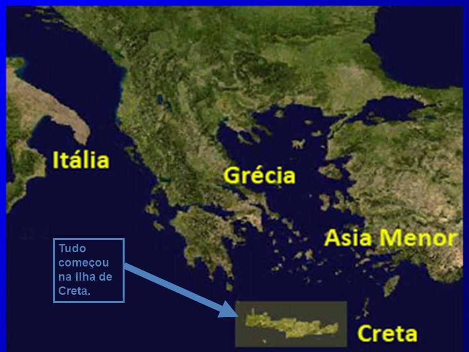 1. FORMAÇÃO A Grécia, ao que tudo indica, inicialmente foi ocupada por um aglomerado de povos que chegaram lá em diversas levas, pois, inicialmente, e