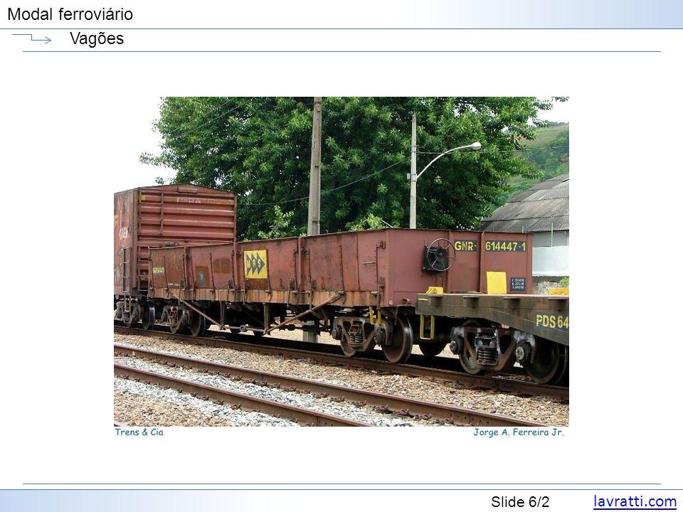 lavratti.com Slide 7/2 Modal ferroviário Vagões