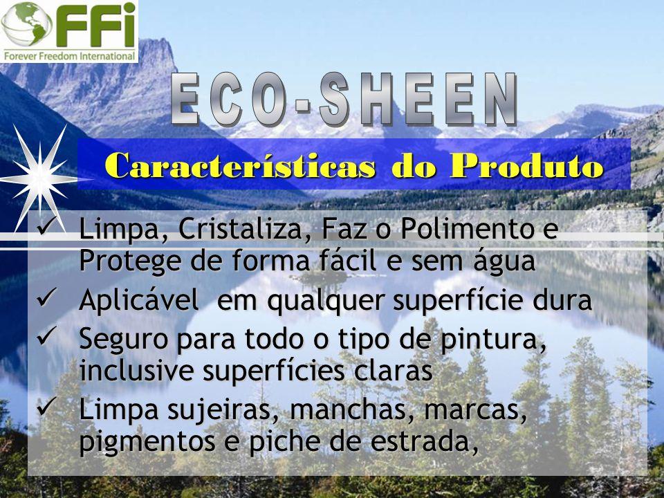 Limpa, Cristaliza, Faz o Polimento e Protege de forma fácil e sem água Limpa, Cristaliza, Faz o Polimento e Protege de forma fácil e sem água Aplicáve