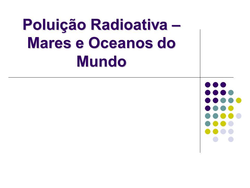 Níveis de radionuclídeos naturais nos oceanos
