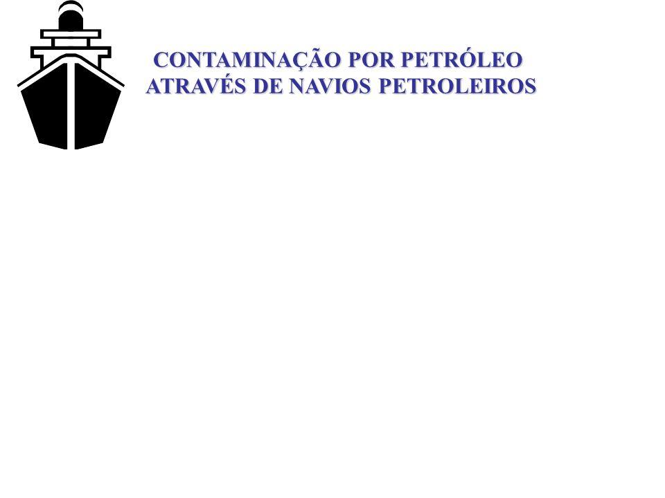 CONTAMINAÇÃO POR PETRÓLEO ATRAVÉS DE NAVIOS PETROLEIROS