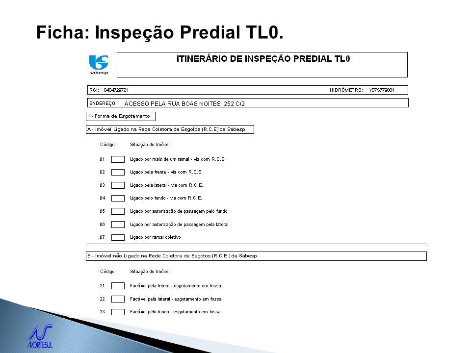 Ficha: Inspeção Predial TL0.