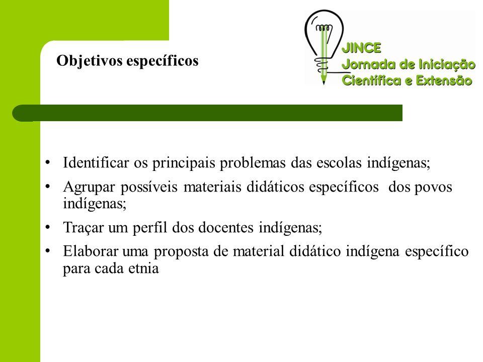 A pesquisa foi realizada através de visitas as escolas indígenas com aplicação de questionário com os gestores e entrevista.