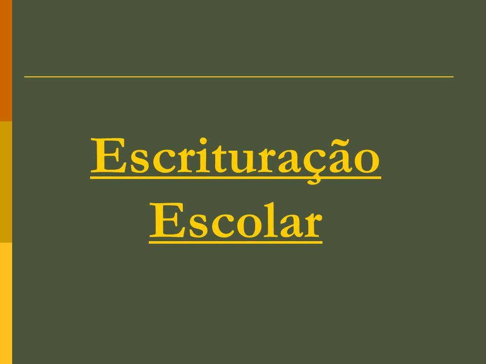 Escrituração Escolar