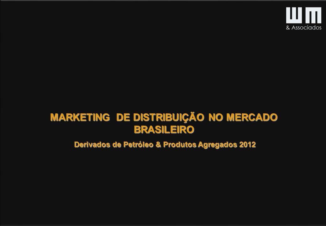 MARKETING DE DISTRIBUIÇÃO NO MERCADO BRASILEIRO Derivados de Petróleo & Produtos Agregados 2012 Derivados de Petróleo & Produtos Agregados 2012