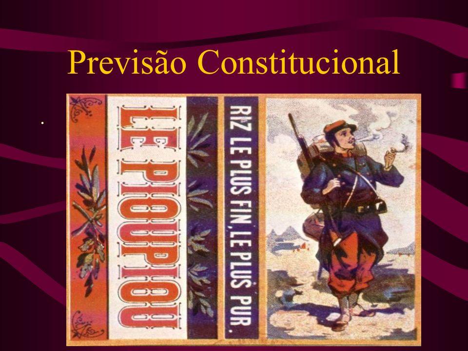 As Constituições, desde 1891, têm previsto a tutela das marcas, em teor similar à atual: Art.