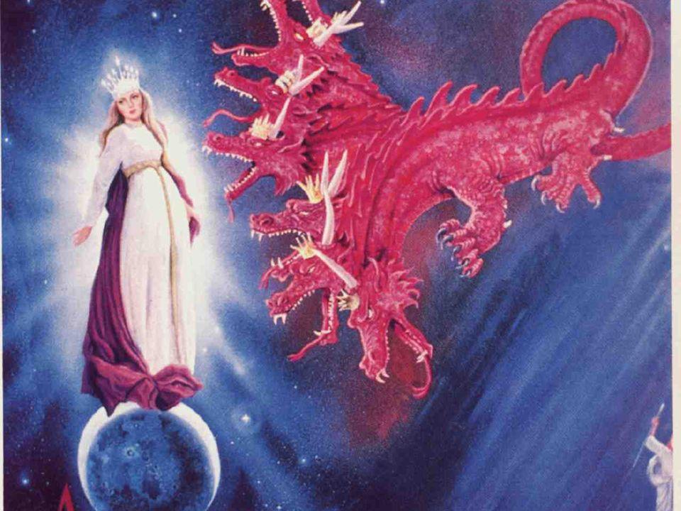 Resumo: Temos aqui um dragão, uma mulher e uma criança. Quando esta luta estava acontecendo nos lugares celestiais o que estava acontecendo na terra?