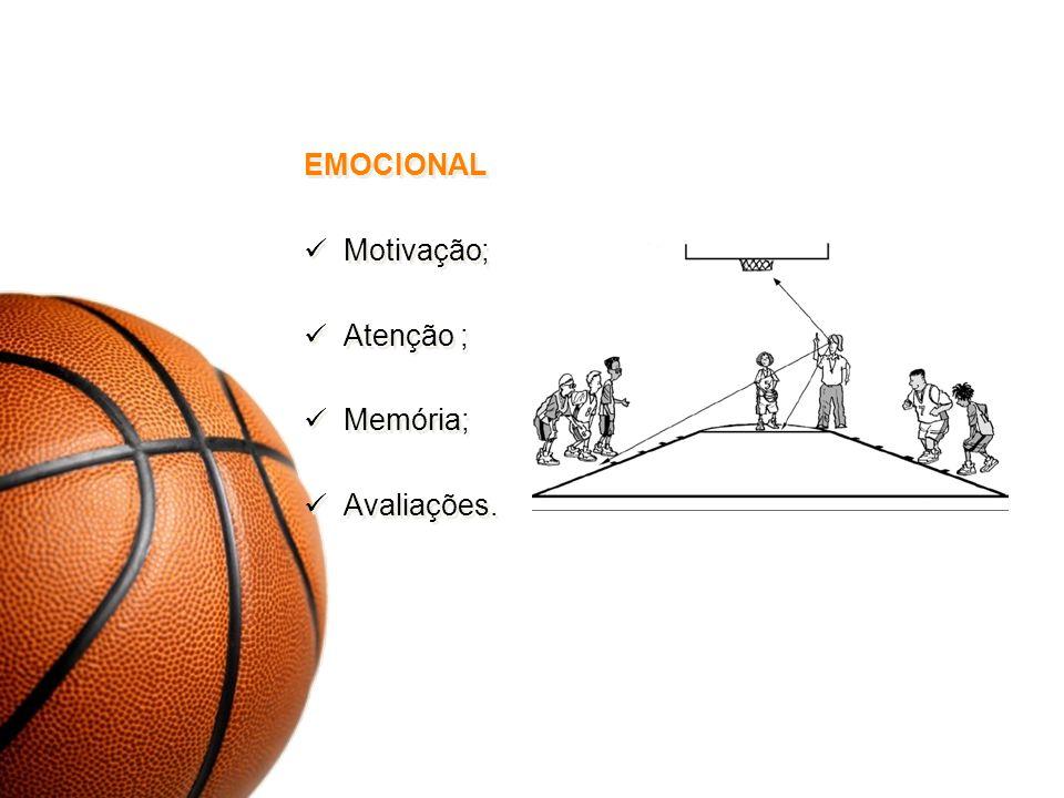 EMOCIONAL Motivação; Atenção ; Memória; Avaliações. EMOCIONAL Motivação; Atenção ; Memória; Avaliações.