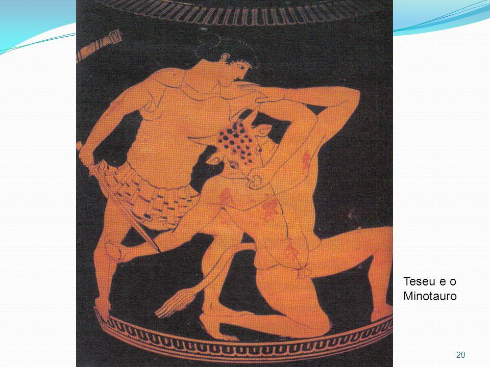 20 Teseu e o Minotauro