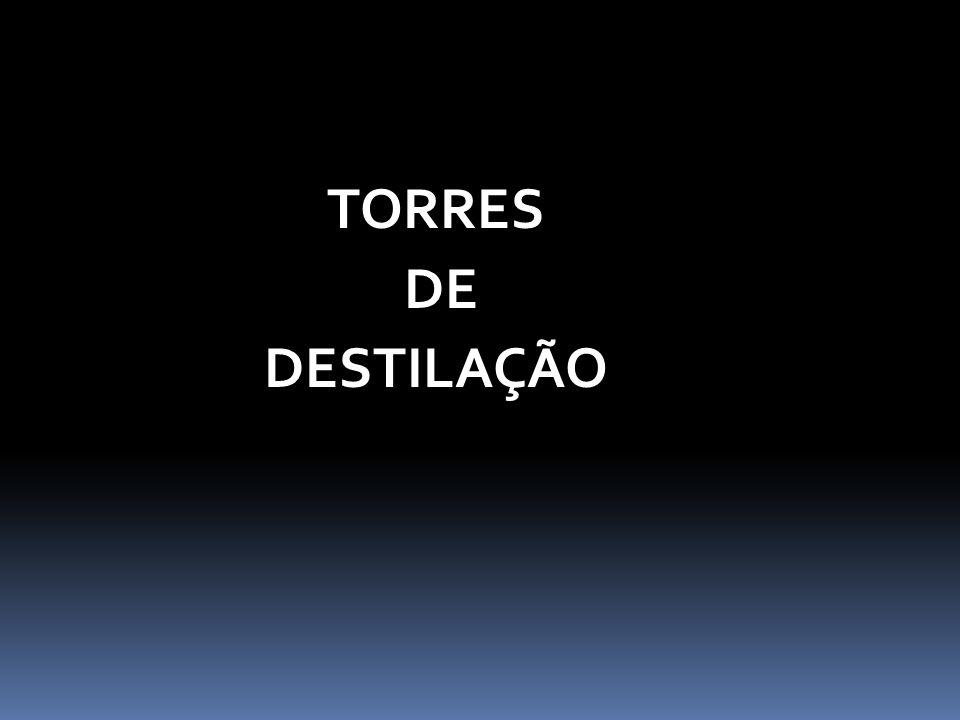 TORRES DE DESTILAÇÃO
