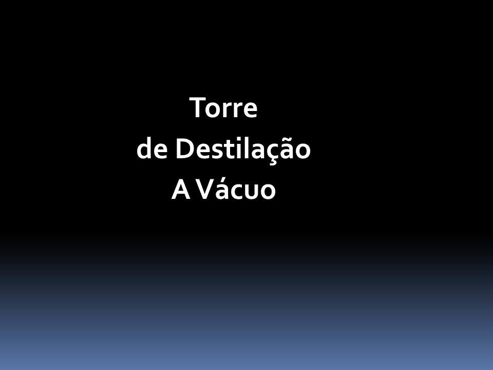 Torre de Destilação A Vácuo