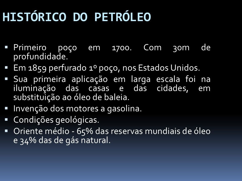 Processamento Primário Durante o processo de produção de petróleo é comum o aparecimento de gás e água associados.