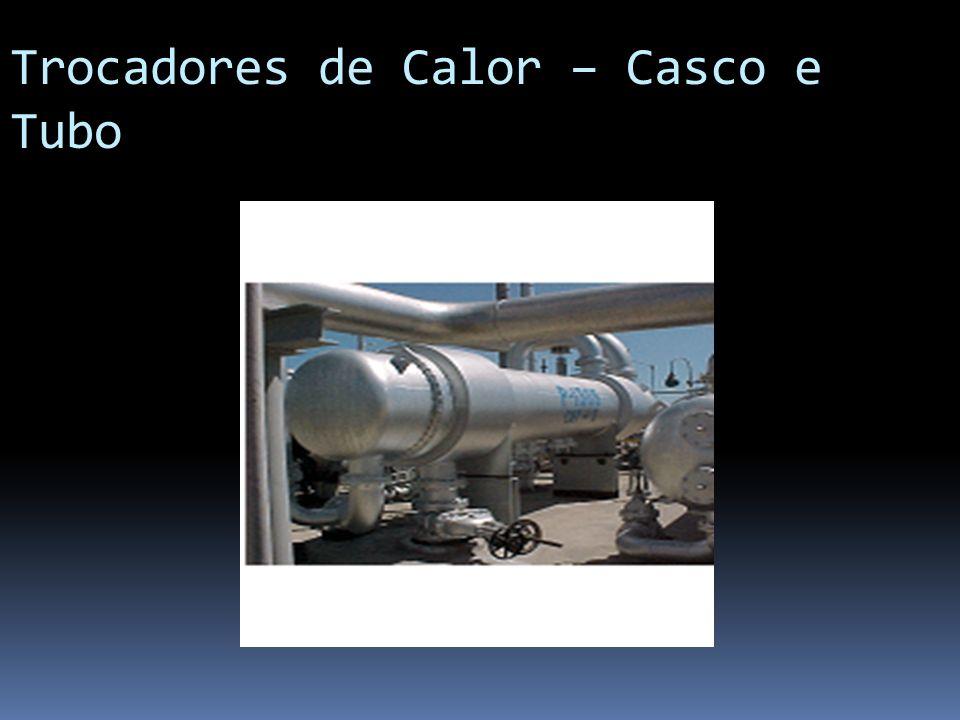 Trocadores de Calor – Casco e Tubo