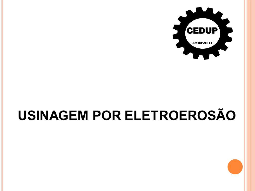 A eletroerosão baseia -se na destruição de partículas metálicas por meio de descargas elétricas, este é um processo complexo e em grande parte não visível.