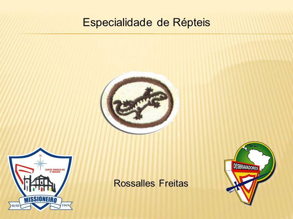 Especialidade de Répteis Rossalles Freitas
