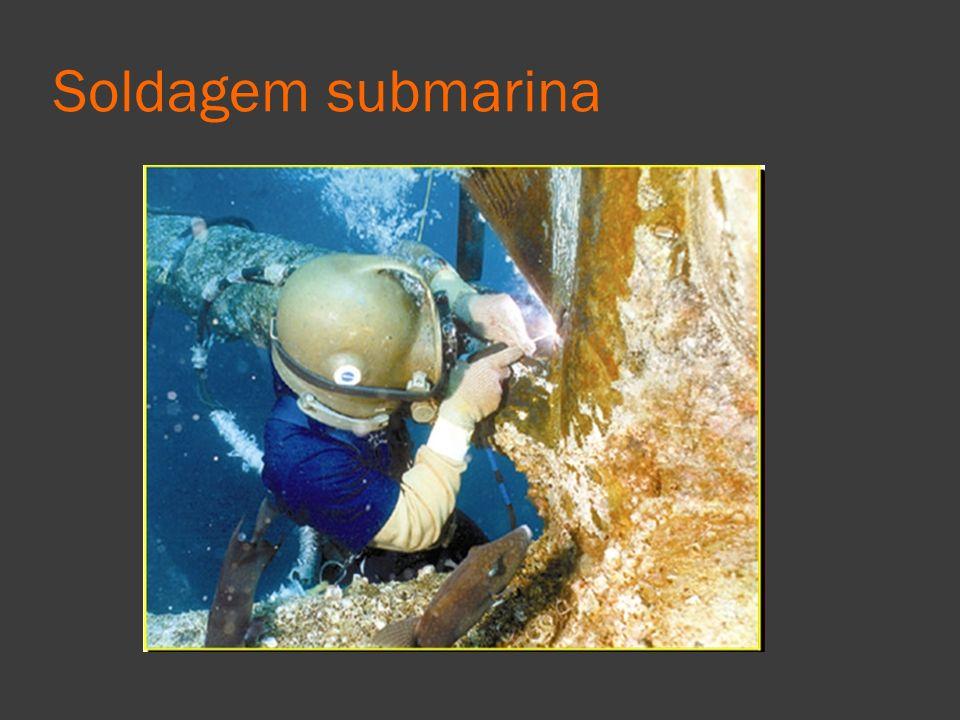 Soldagem submarina