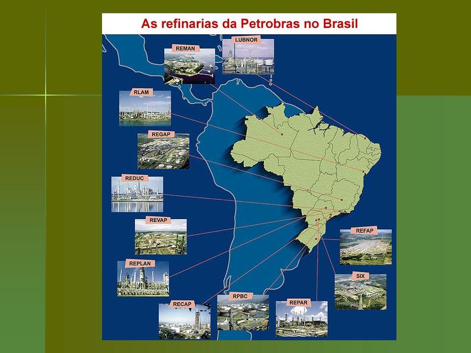 Em fins da década de 70, foram abertas várias áreas para que outras empresas (nacionais e estrangeiras) investissem no ramo de Petróleo; Em fins da década de 70, foram abertas várias áreas para que outras empresas (nacionais e estrangeiras) investissem no ramo de Petróleo; Mas até hoje não se teve notícia da possibilidade de produção petrolífera no Brasil, a não ser nas áreas já exploradas e controladas pela Petrobrás.