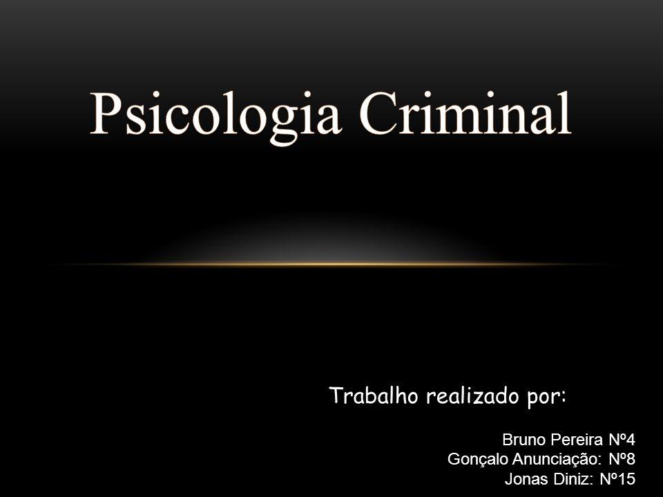 INTRODUÇÃO A criminalidade é um tema presente no nosso quotidiano e que por vezes vem ao nosso encontro.