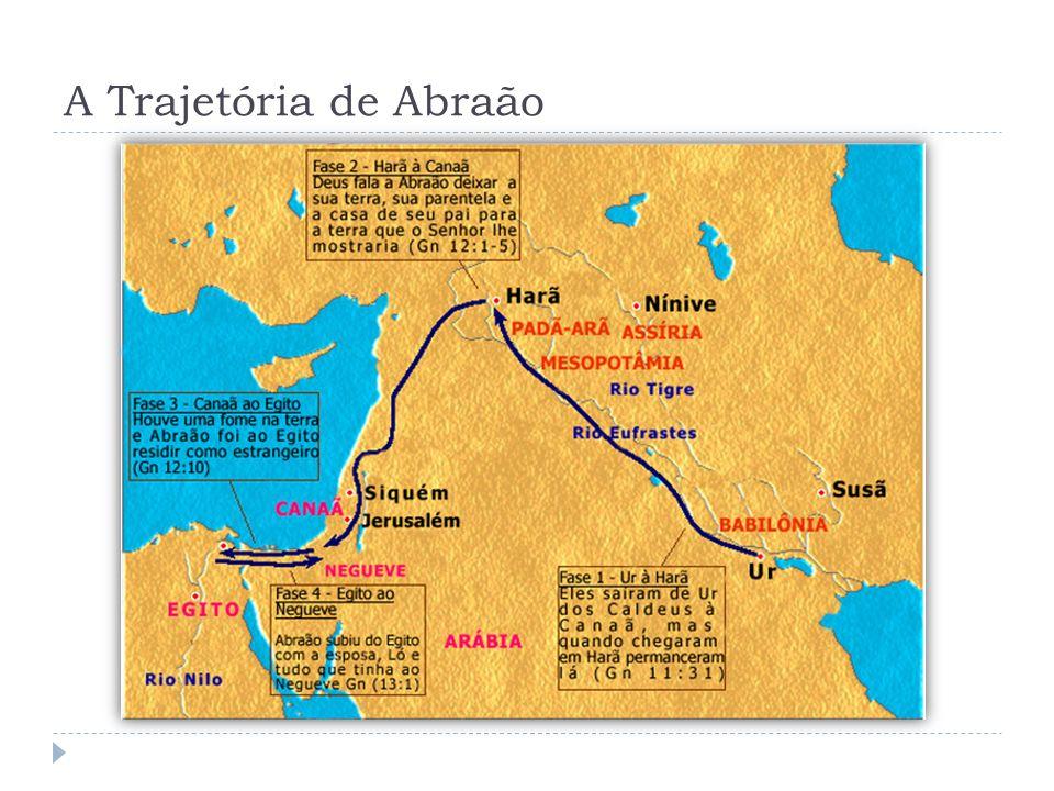 Abraão em Um Seder para os Nosso Dias […] Há cerca de 4.000 anos a trajetória deste povo (os hebreus) teve início - quando Abraão deixou seu lugar de origem, na região entre o Tigre e o Eufrates, para ir a Canaã.