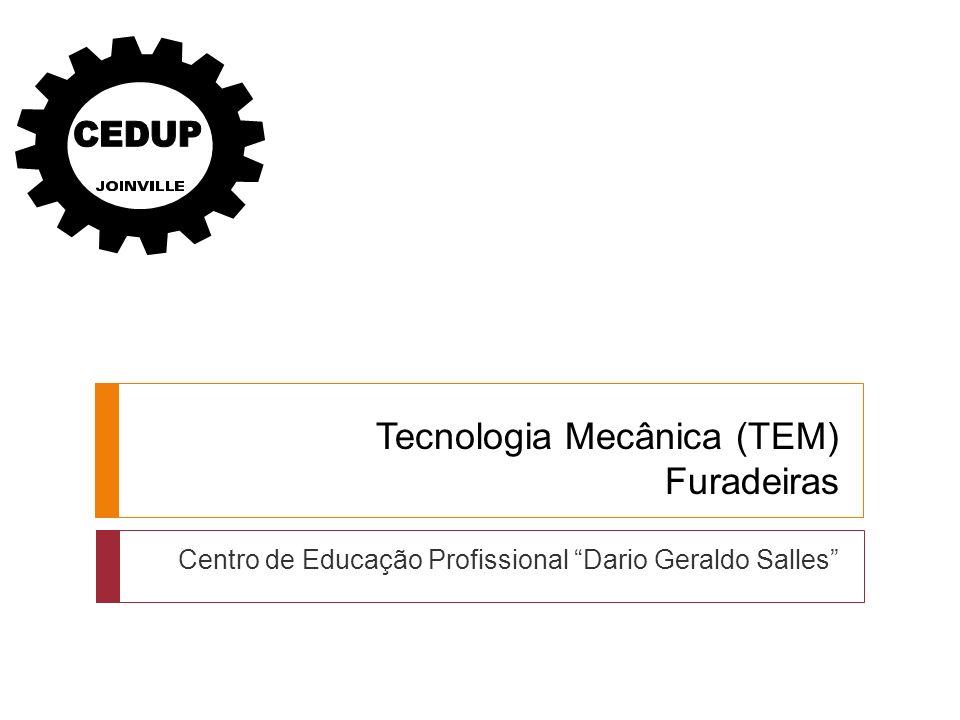 Tecnologia Mecânica (TEM) Furadeiras Centro de Educação Profissional Dario Geraldo Salles