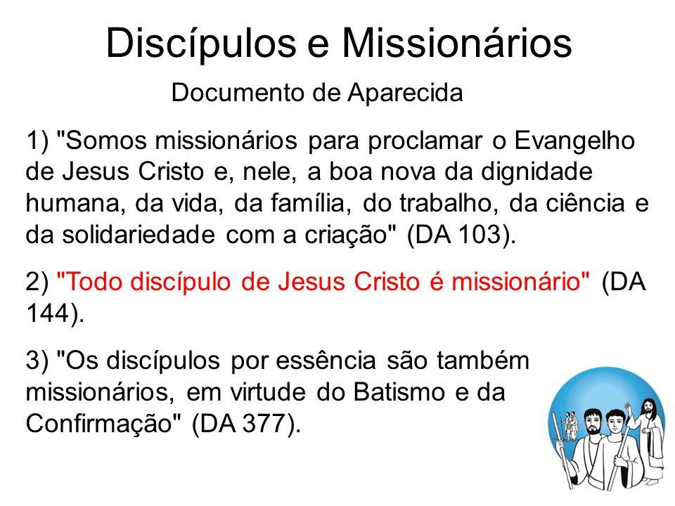 Discípulos e Missionários Documento de Aparecida 1)