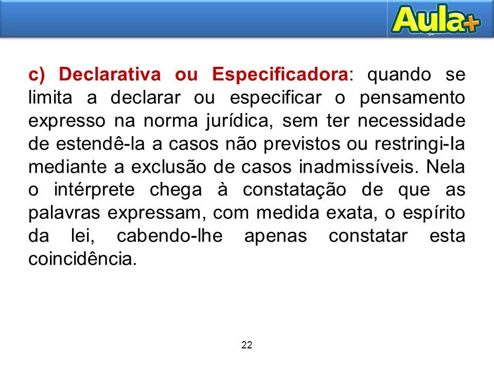 23 O problema das lacunas e recursos às fontes secundárias do Direito.