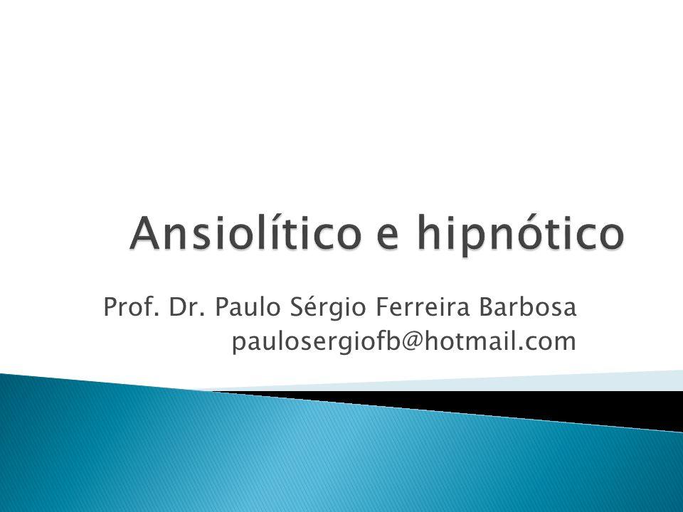 Prof. Dr. Paulo Sérgio Ferreira Barbosa paulosergiofb@hotmail.com
