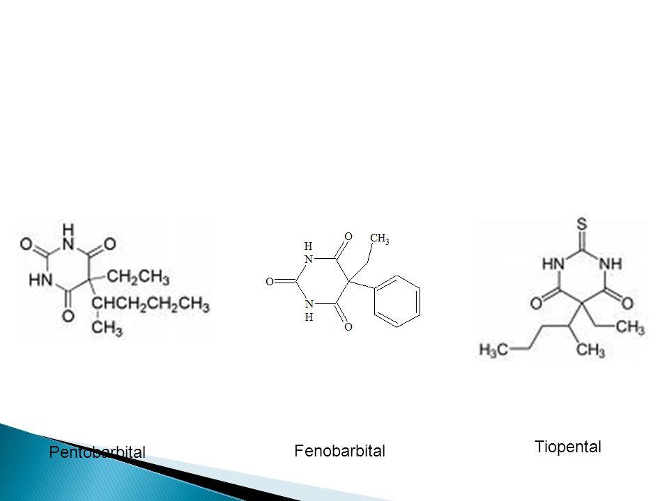 Pentobarbital Fenobarbital Tiopental
