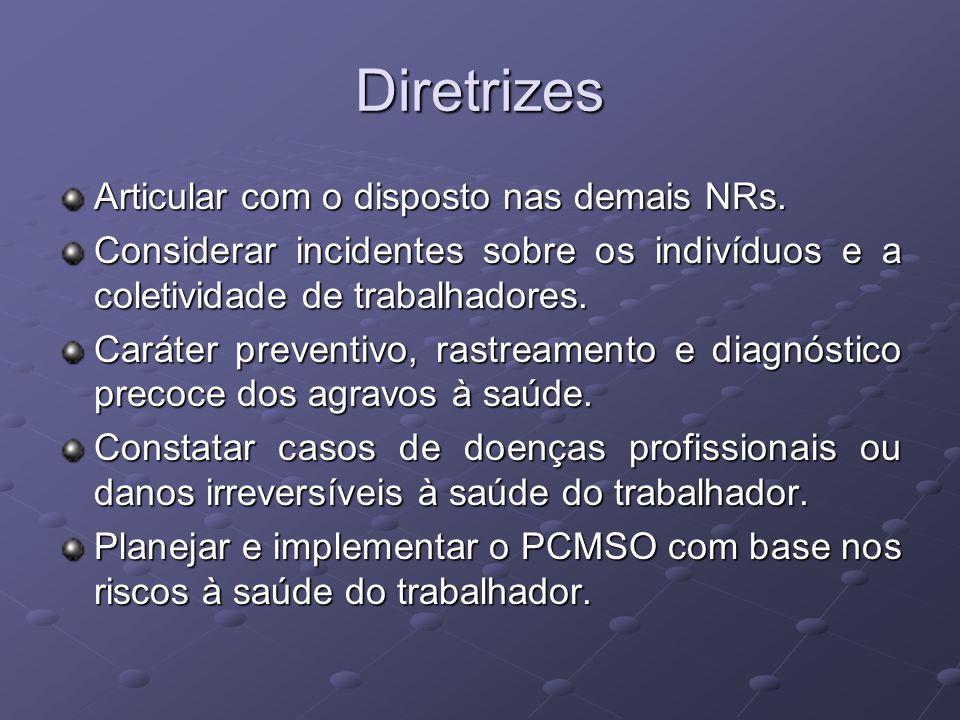 Elaboração A NR-7 não diz quem deve elaborar o PCMSO.