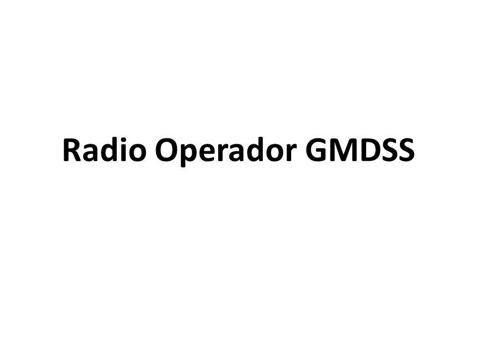 Radio Operador GMDSS