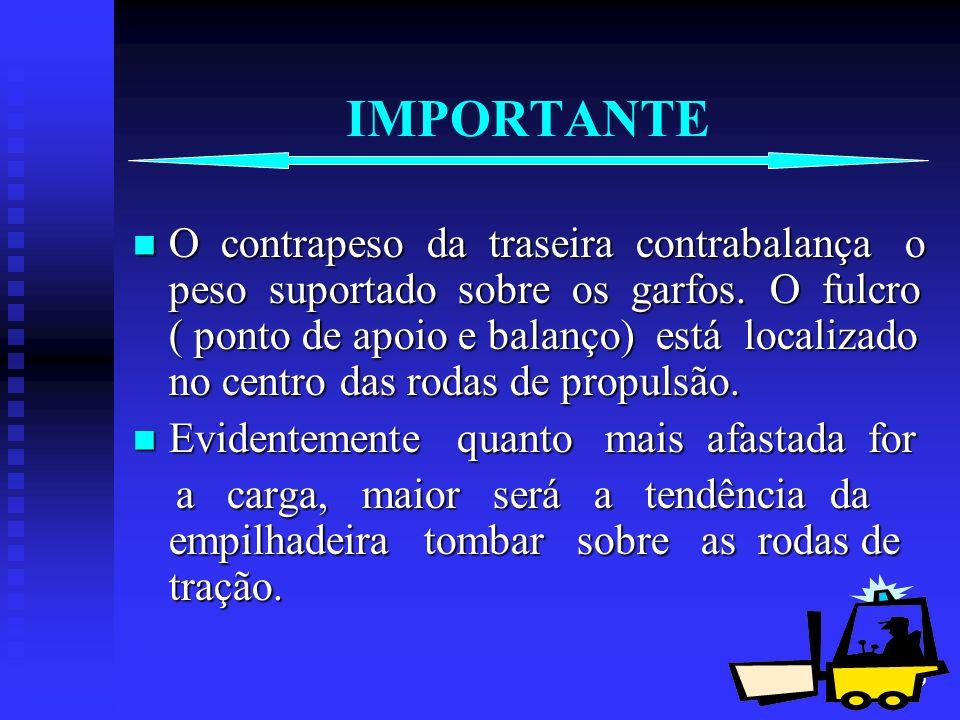 20 MANDAMENTOS DO OPERADOR Ò Não opere sem protetor contra queda de cargas ( Santo Antônio ); ( Santo Antônio ); Se a carga estiver obstruindo a visão, transite de marcha a ré, exceto subindo rampas.