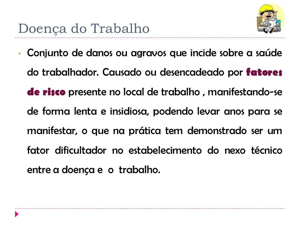 1º atendimento História OcupacionalHistória clínica compatível Há fatores de risco.
