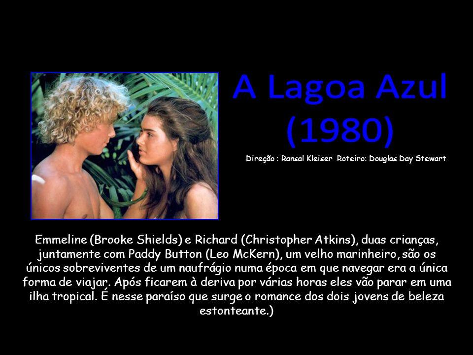 Emmeline (Brooke Shields) e Richard (Christopher Atkins), duas crianças, juntamente com Paddy Button (Leo McKern), um velho marinheiro, são os únicos