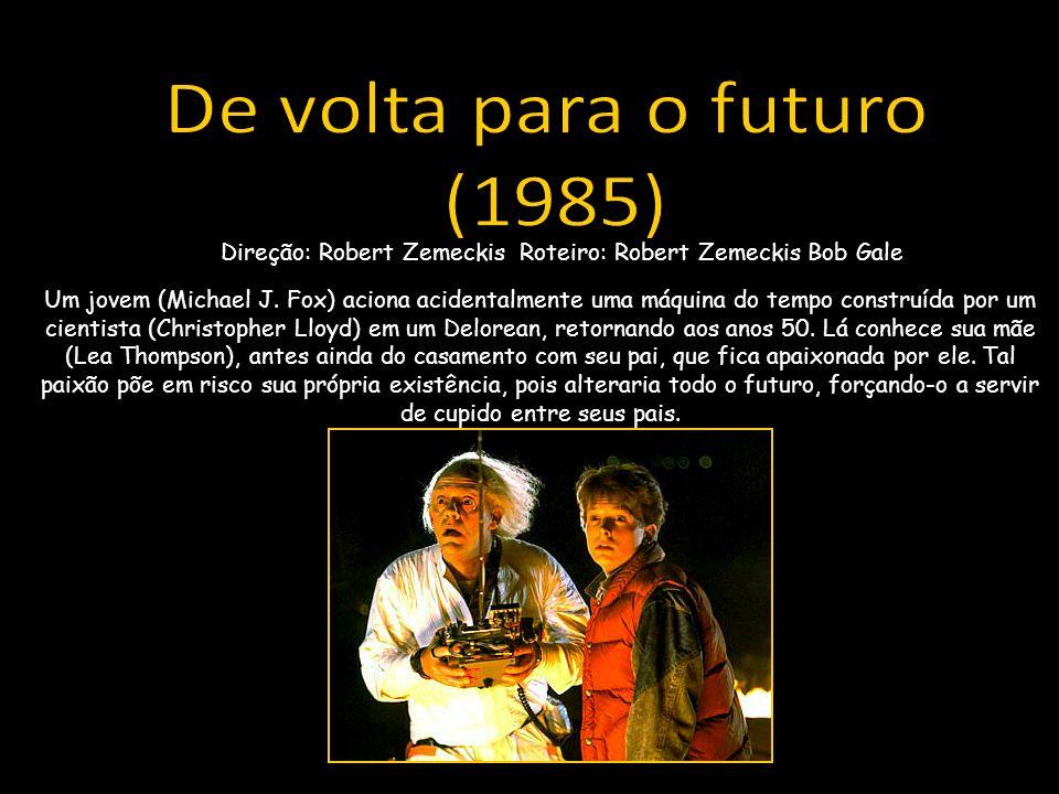 Um jovem (Michael J. Fox) aciona acidentalmente uma máquina do tempo construída por um cientista (Christopher Lloyd) em um Delorean, retornando aos an