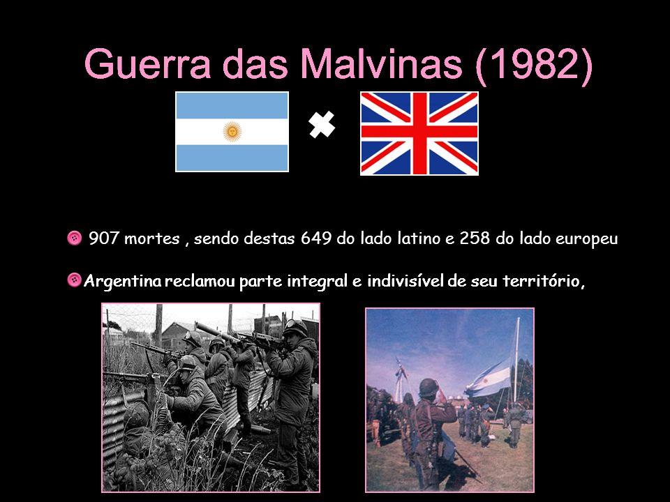 Guerra das Malvinas (1982) Argentina reclamou parte integral e indivisível de seu território, Guerra das Malvinas (1982) Argentina reclamou parte inte