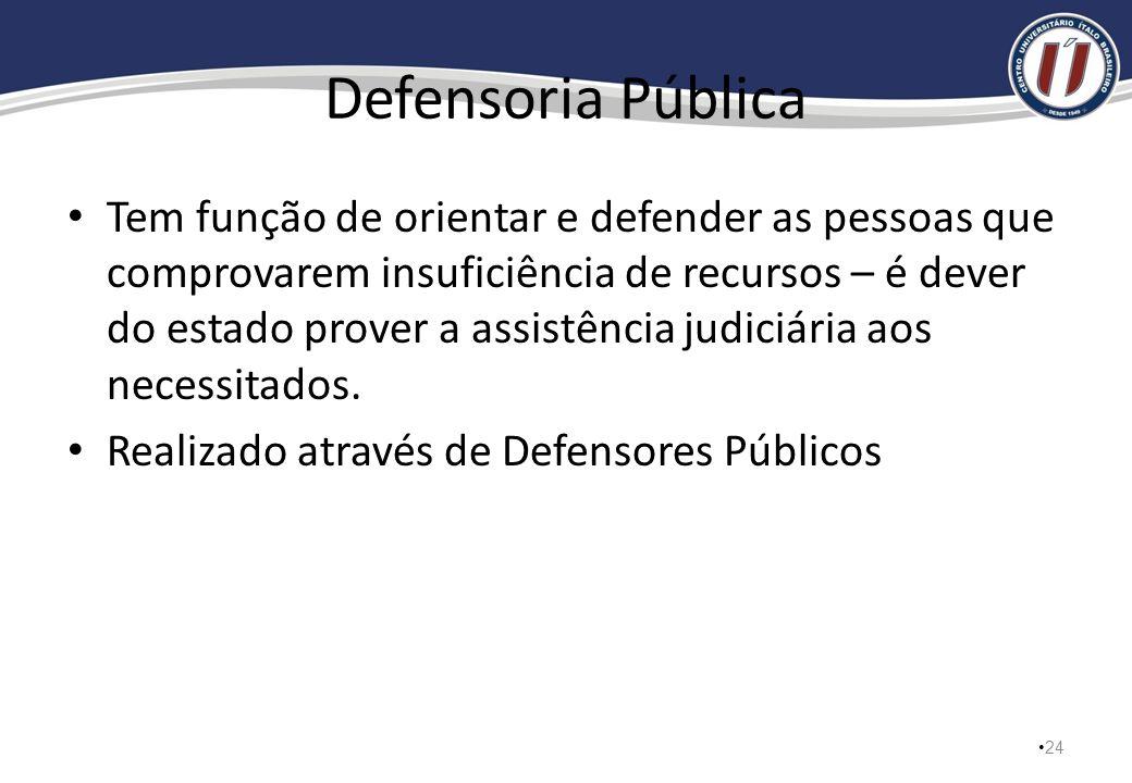 Advocacia Geral da União Representa a União judicial e extrajudicialmente. Cada estado terá o seu representante - Procurador 23