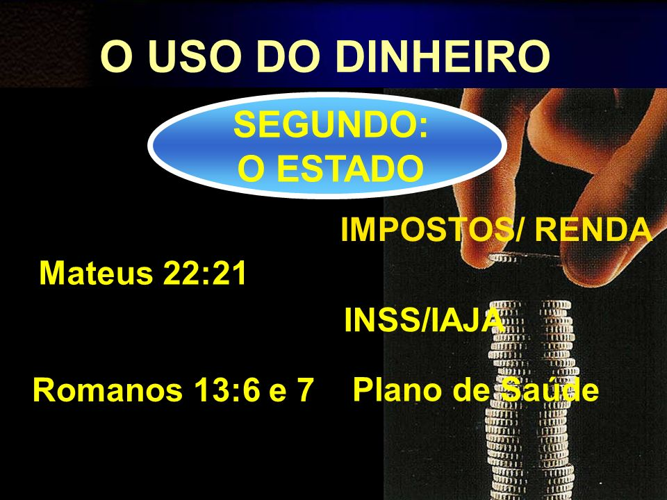 O USO DO DINHEIRO TERCEIRO: GERAIS Dispêndio para Consumo Investimento Poupança/15%