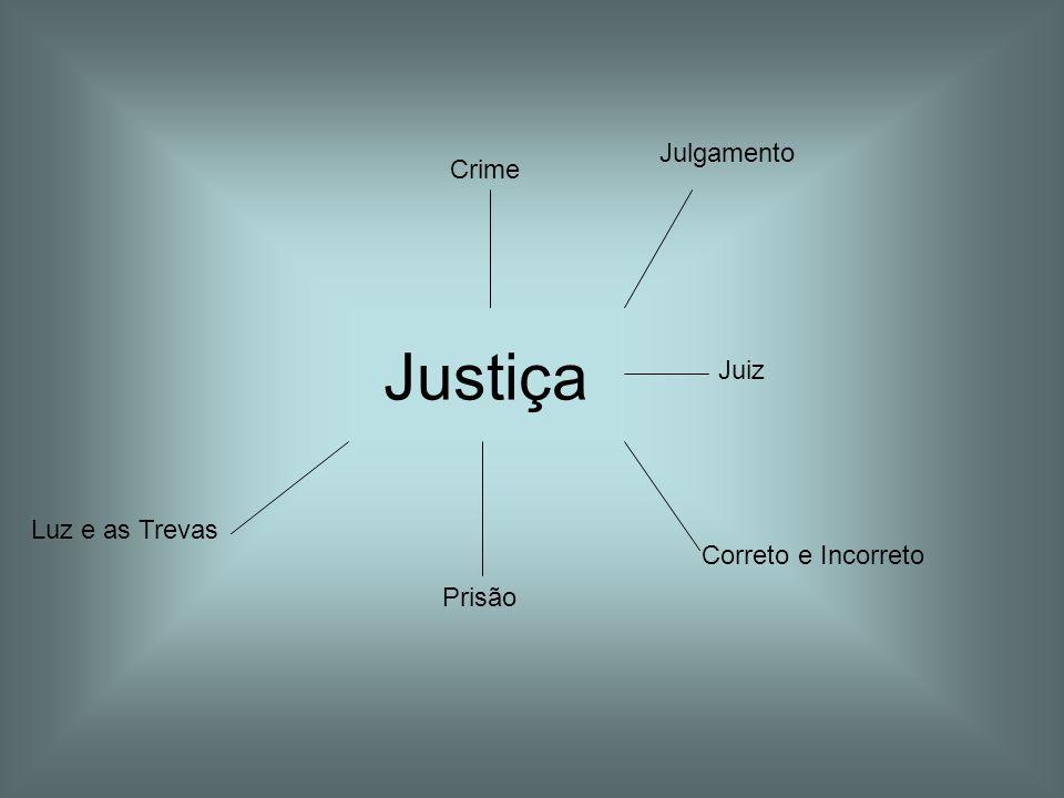 Justiça Crime Julgamento Juiz Correto e Incorreto Prisão Luz e as Trevas