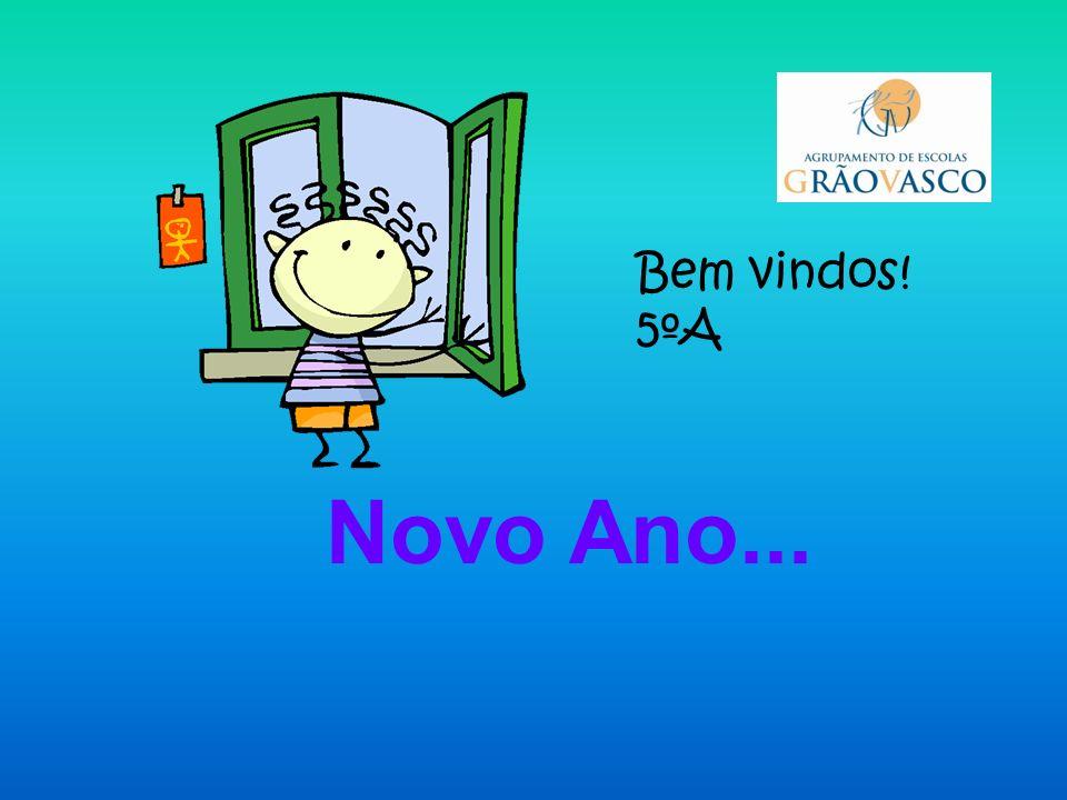 Bem vindo à Escola! 2011-2012