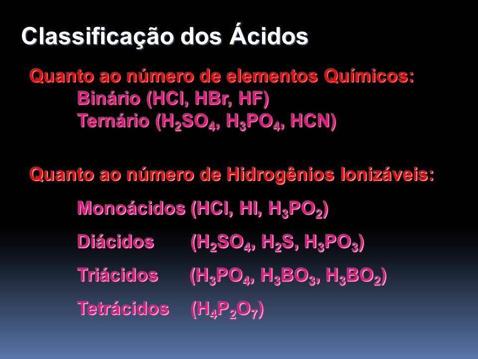 Bases De acordo com Arrhenius, base ou hidróxido é toda substância que, dissolvida em água, dissocia-se fornecendo como ânion exclusivamente OH - (hidroxila).