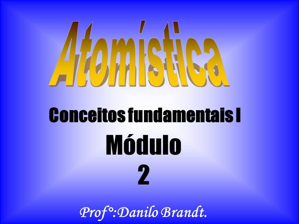 Conceitos fundamentais I Módulo 2 Prof°:Danilo Brandt.