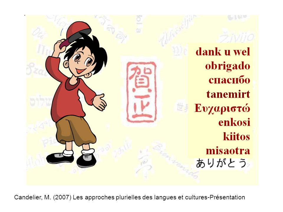 Candelier, M. (2007) Les approches plurielles des langues et cultures-Présentation