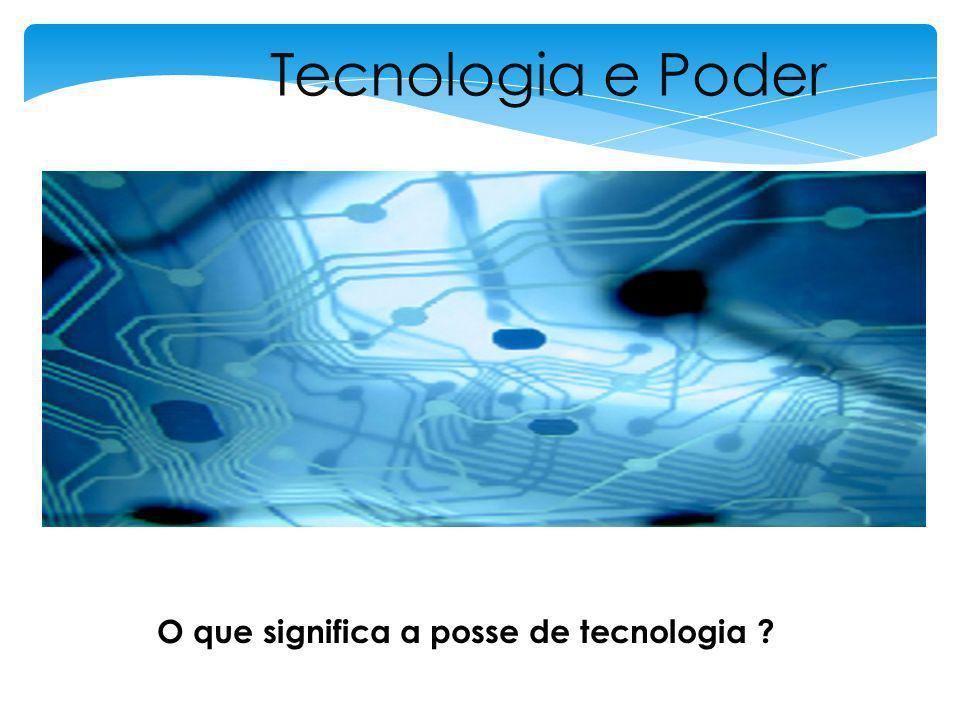 Tecnologias desenvolvidas:– 1939/1945 A quem serve a nova Tecnologia ?