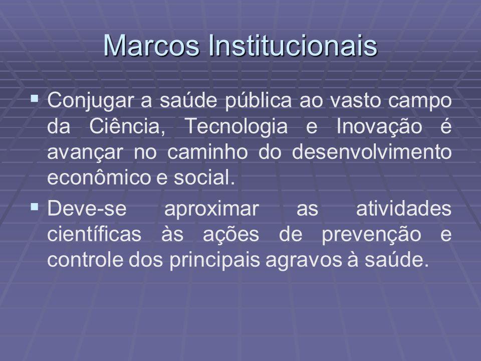 Marcos Institucionais O art.