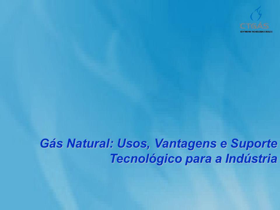 Sumário Índice Gás Natural Gás Natural Matriz Energética Matriz Energética Usos do GN Usos do GN Indústria do GN Indústria do GN Centro de Tecnologias do Gás-CTGAS Centro de Tecnologias do Gás-CTGAS REGAS REGAS Suporte Tecnológico Suporte Tecnológico